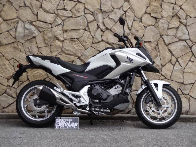 Honda Nc750x 2016 White 15500 Km Details Japanese Used