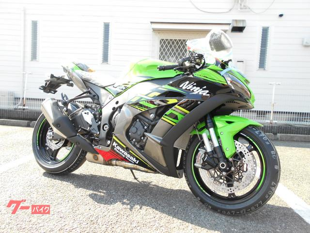 Kawasaki Ninja Zx 10r New Bike Green Km Details Japanese