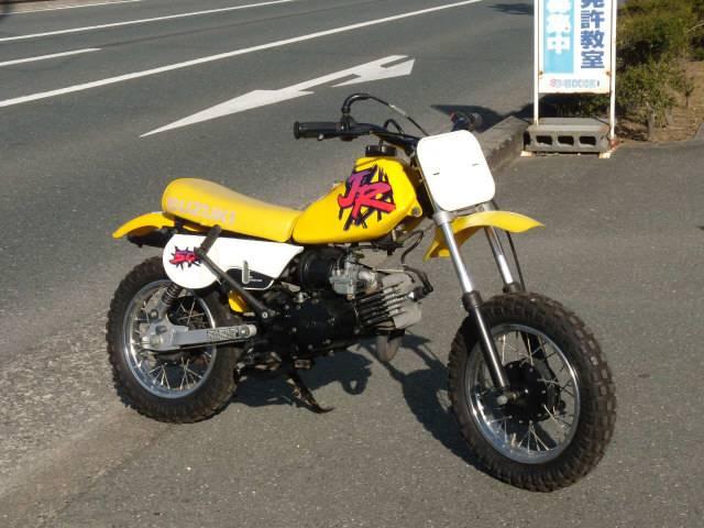Suzuki jr50 yellow uncertain details japanese used jr50 freerunsca Images