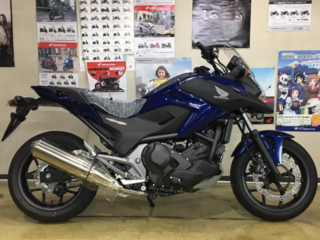 Honda Nc750x Type Ld Dct New Bike Blue Km Details