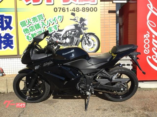 Kawasaki Ninja 250r Black 17976 Km Details Japanese