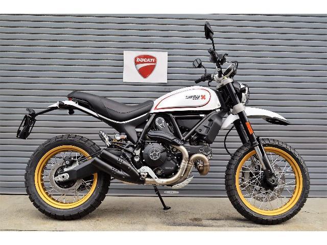 Ducati Ducati Scrambler Desert Sled New Bike White Gold Km