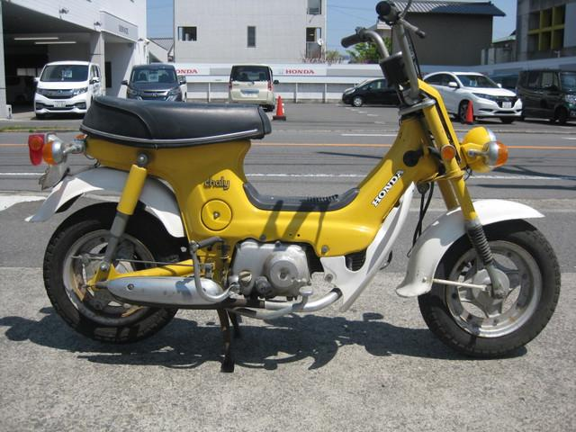 honda chaly uncertain yellowwhite  km details japanese  motorcycles