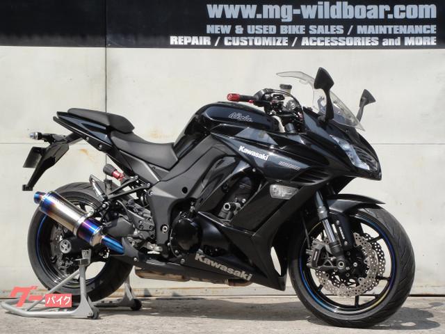 Kawasaki Ninja 1000 2014 Black M 12 730 Km Details