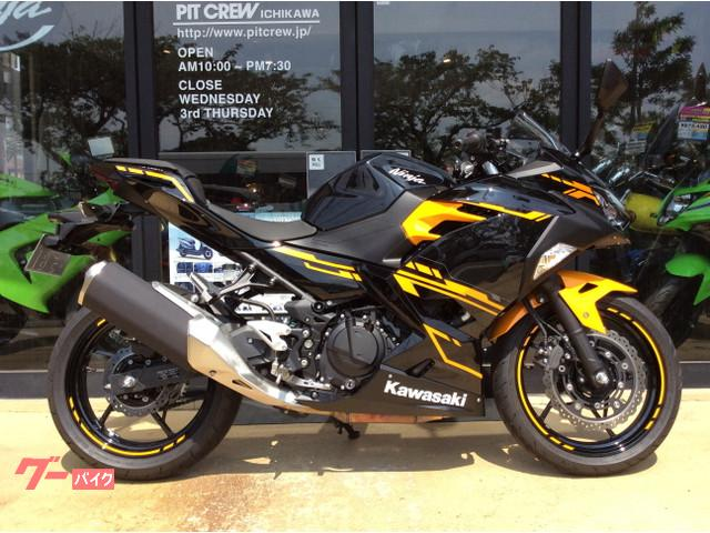 Kawasaki Ninja 250 New Bike Yellowblack Km Details
