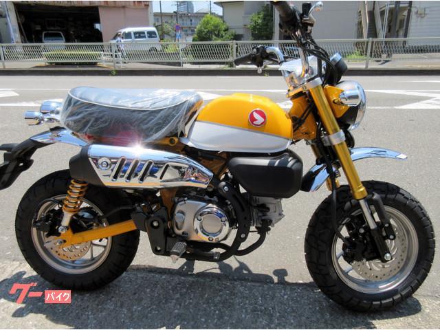 Honda Monkey 125 New Bike Yellow Km Details Japanese