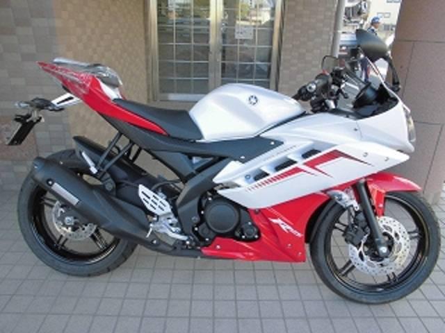 YAMAHA YZF-R15   New Bike   RED/WHITE   ― km   details   Japanese