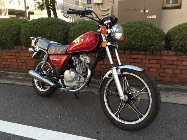 GN125H レンタルバイク 大田区