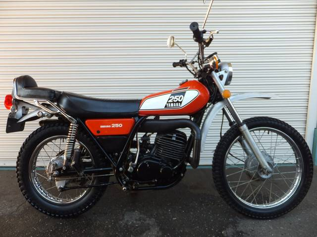 Yamaha dt250 1974 two tone 4 317 km details for Yamaha yes warranty