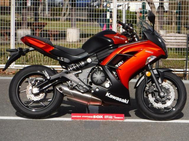 Kawasaki Ninja 650 2014 Blackyellow 575 Km Details