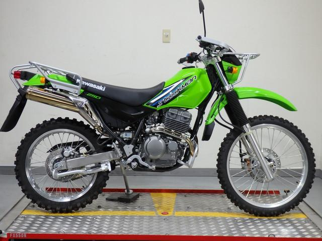 KAWASAKI SUPER SHERPA | New Bike | GREEN | ― km | details | Japanese ...