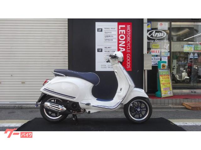 Vespa Vespa Primavera Yacht Club New Bike White Blue Km
