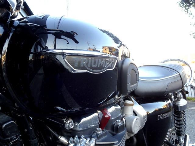 ボンネビルT120 MY2017 ETC パニアレール付きトライアンフ認定中古車