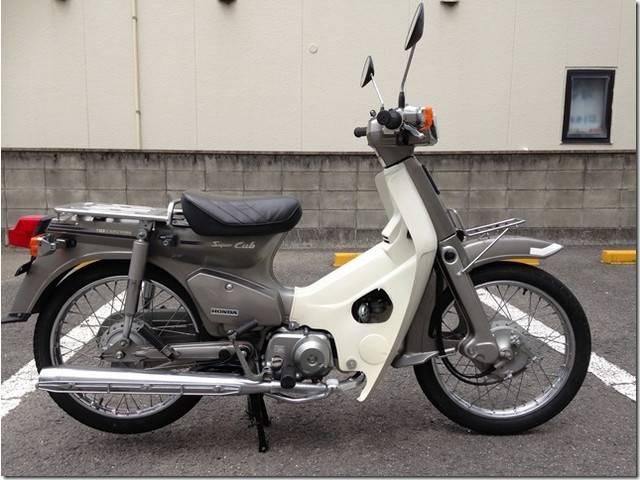 honda super cub c90 custom | uncertain | silver | 15,729 km