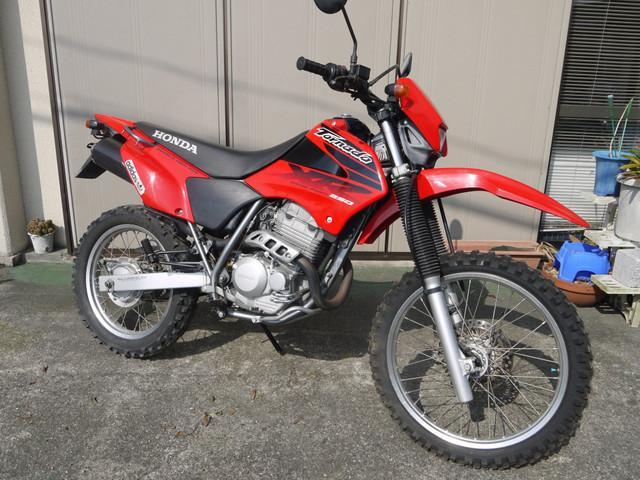 Honda Xr250 Tornado Red 12148 Km Details Japanese Used