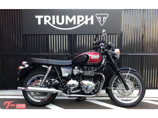 Triumph Triumph Bonneville T100 2015 Blackred 3722 Km