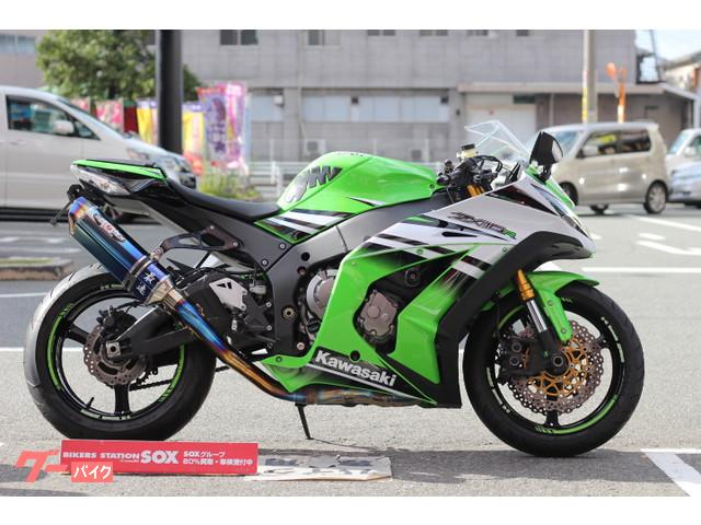 Kawasaki Ninja Zx 10r 2015 Greenwhite 20748 Km Details