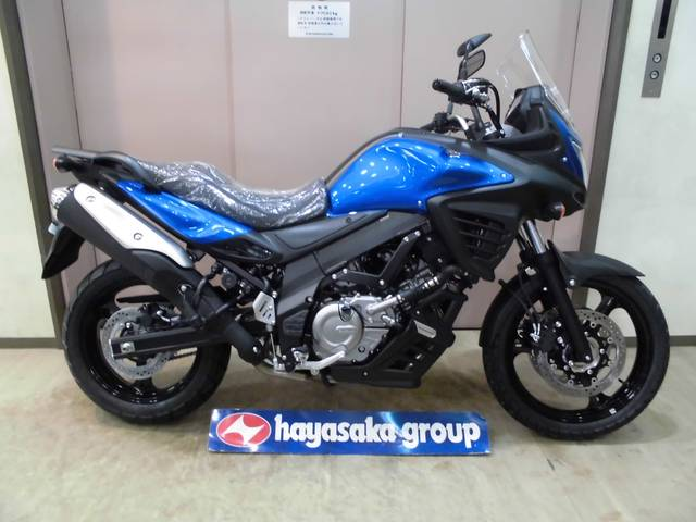 Suzuki V Strom 650 New Bike Blue Km Details Japanese