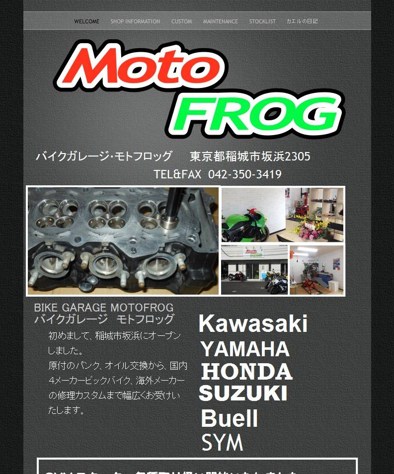 BikeGarage MotoFROG