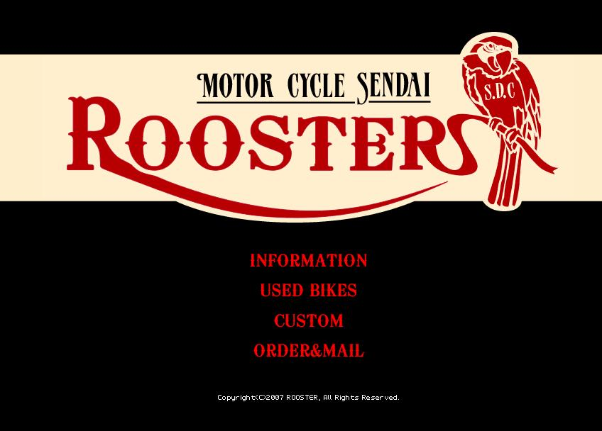 ROOSTER Motor cycle