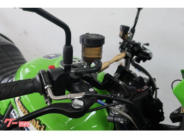 ブレーキ系もNISSIN製ラジアルマスター装着済み!