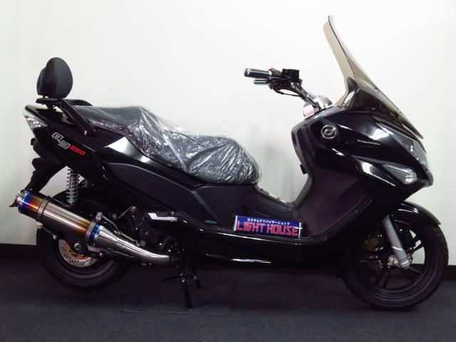 新設計の水冷 4サイクル4バルブ 250ccエンジンを搭載