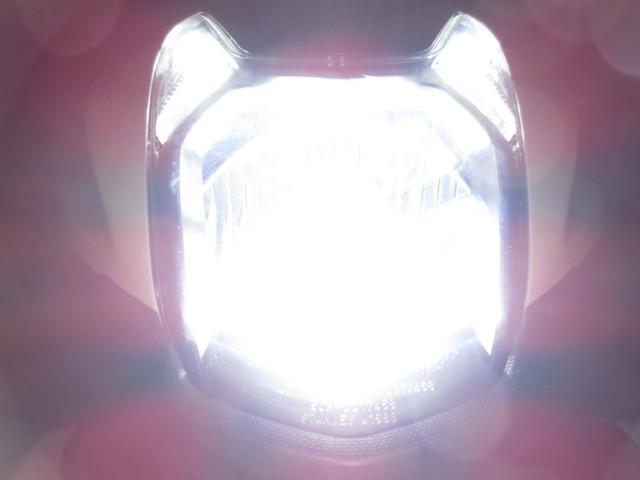 ●HID並みの明るさ●バッテリーにも優しい 最新式の LEDヘッドライト●