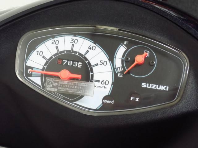 ●シンプルで見やすいスピードメーター●燃料計付●
