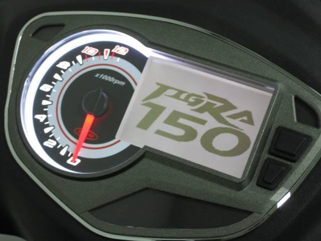 ●150cc専用のデジタルメーター●