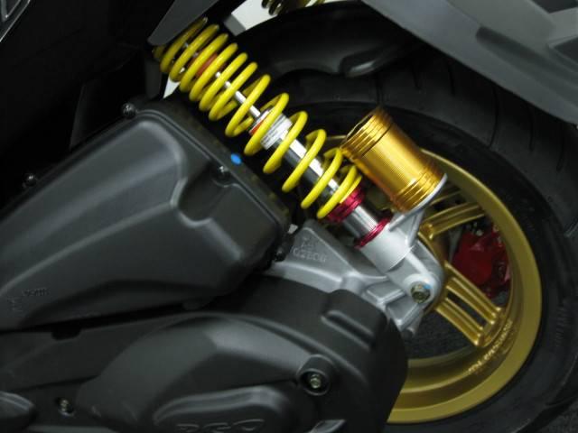 ●150cc専用のリヤサスペンション●