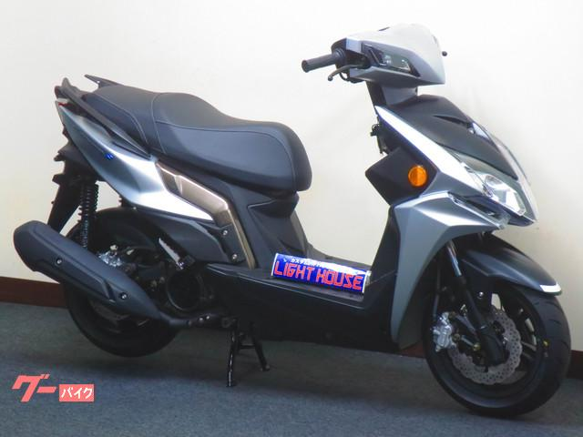 KYMCO レーシングS125 LEDヘッドライト 6期モデル 前後ディスクブレーキ