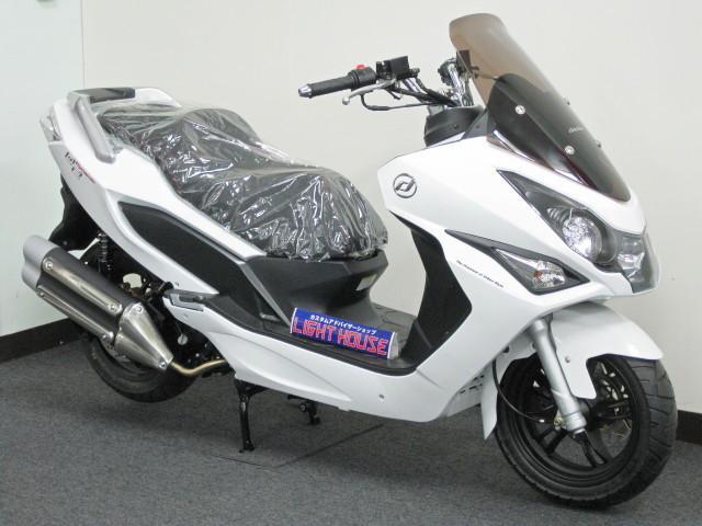 ●バイク盗難が多い沖縄だから 当店では防犯アラームをサービス●