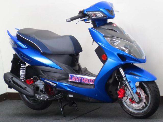 KYMCO レーシング150i Motocam ABS付 ドライブレコーダー付