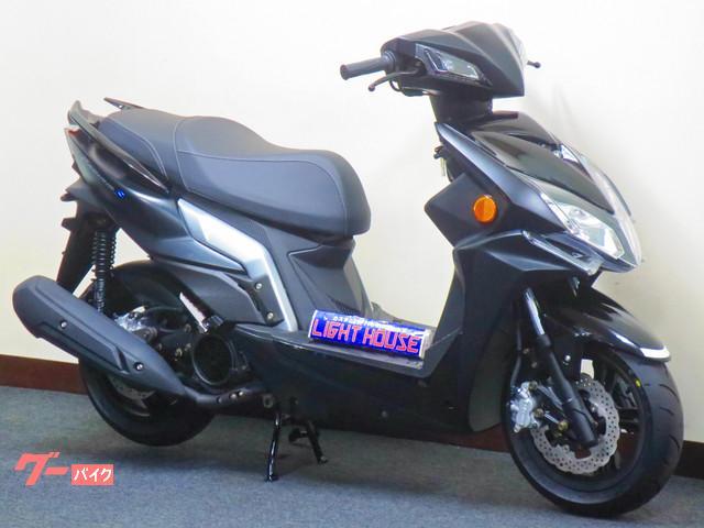 KYMCO レーシングS125  日本国内仕様 6期モデル リヤキャリア付