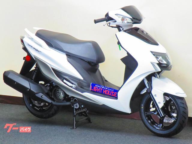 ヤマハ シグナスX SR 日本国内正規モデル LEDヘッドライト DCソケット