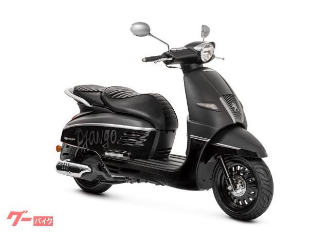 PEUGEOT ジャンゴ125 ABS 2020年モデル 前後ディスク