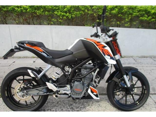 KTM 200デューク