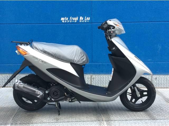 スズキ アドレスV50 新車 シルバー 日本製