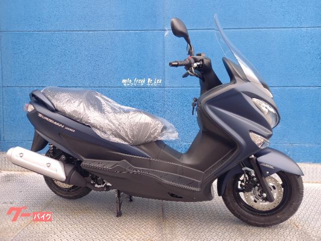 スズキ バーグマン200ABS 2021モデル
