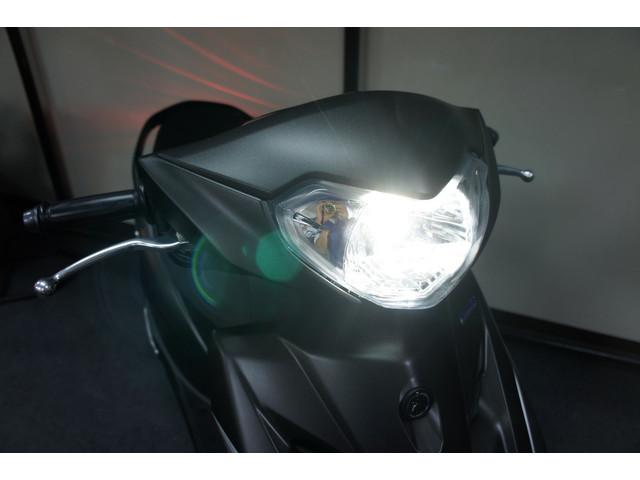 高品質LEDヘッドライトも取付できます