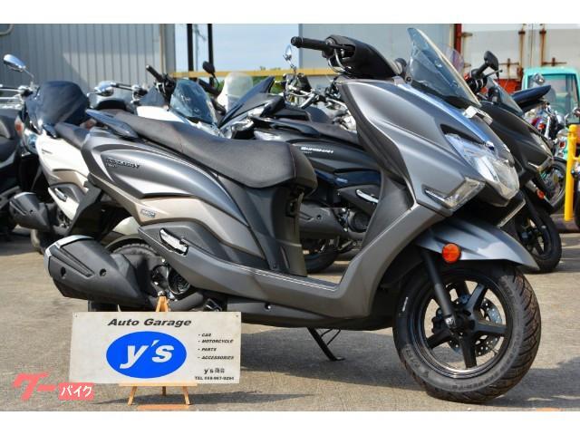 スズキ バーグマン125 国内未発表モデル インジェクション新型