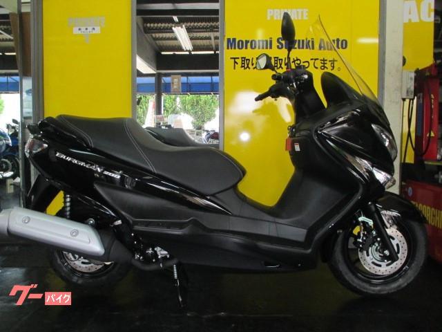 スズキ バーグマン200 ABS 2021年モデル物件画像
