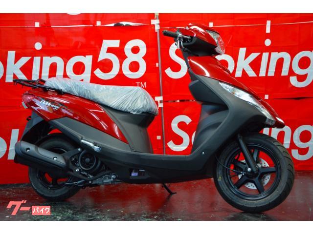 スズキの最新スタンダードスクーター!125ccをご検討の方!オススメです。