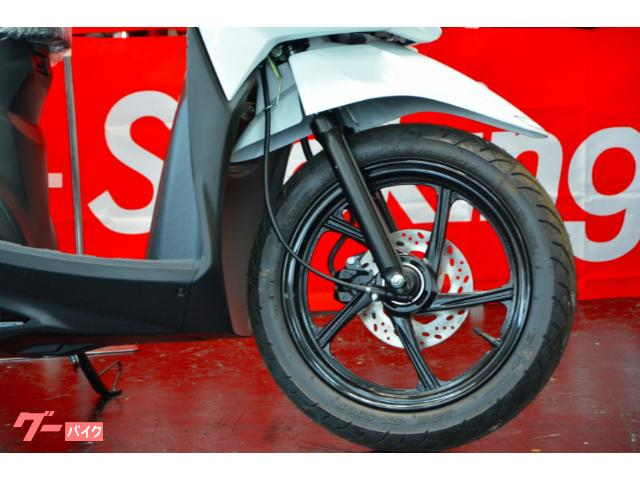 50ccからの乗り換えや、女性の方にも安心してオススメできる1台です。