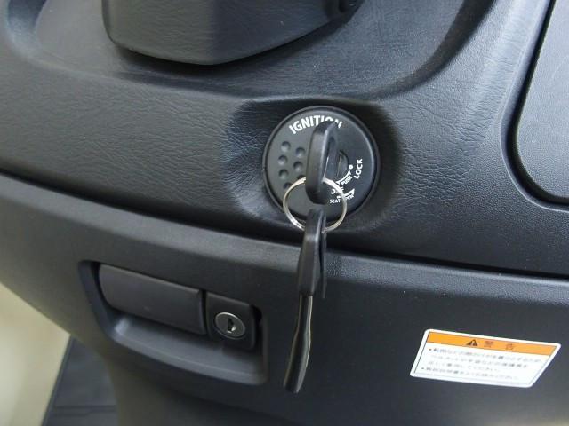 *メインキー操作でシートの開錠も可能です