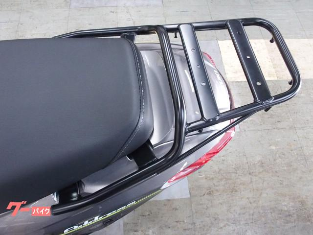 *リヤキャリア標準装備なので別途オプションのボックスやカゴなども取付可能