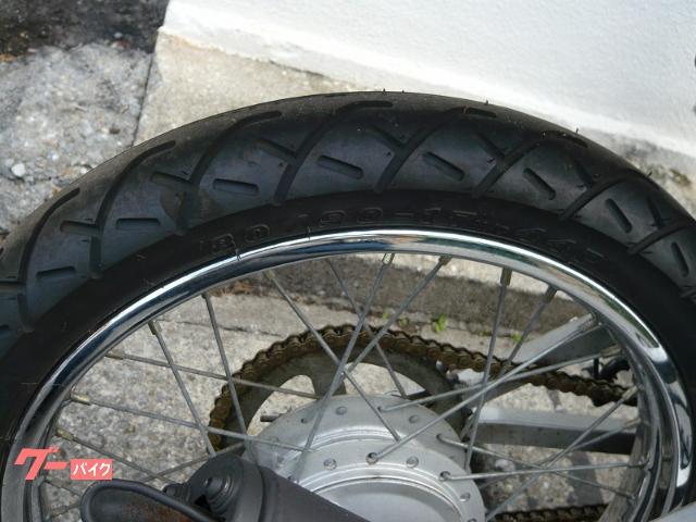 タイヤも新品