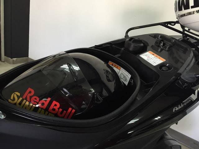 ジェットタイプヘルメットも収納可♪※ヘルメットには種類があります。ご持参し現物確認をオススメします。