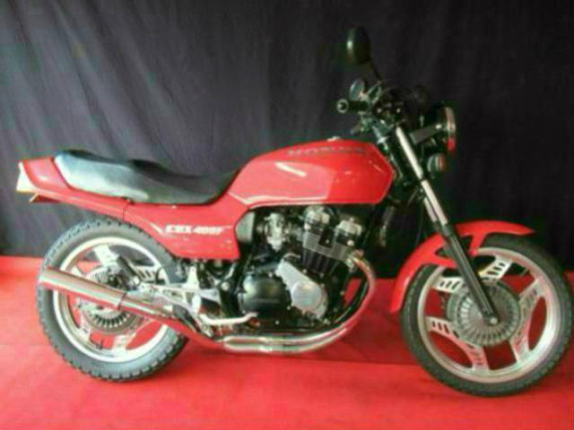 ホンダ CBX400F 赤ソリッドニューペイント