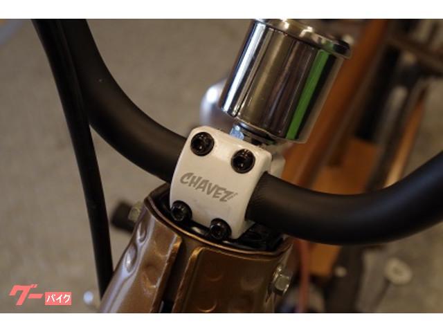 自転車用ハンドルを使用しております。